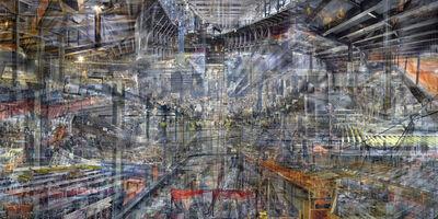 Shai Kremer, 'World Trade Centre: Concrete Abstract # 10', 2001-2012
