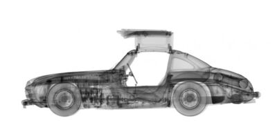 Nick Veasey, '1955 Mercedes 300SL Gull-Wing'