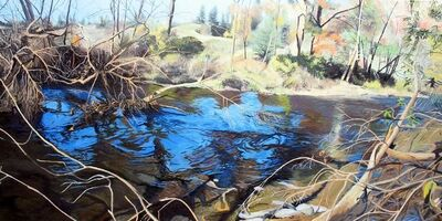 Kevin Muente, 'Linville River II '
