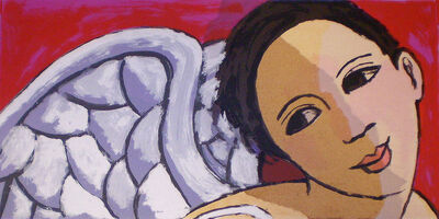 Anita Klein PPRE, 'Angel with Silver Wings', 2010