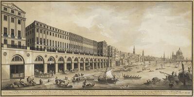 Joseph Bonomi the Elder, 'The Adelphi, London: design for a speculative complex built by William Adam & Co., 1768-84', ca. 1768-69