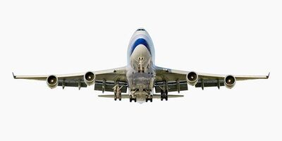 Jeffrey Milstein, 'China Airlines Boeing 747-400 (Front View)', 2007