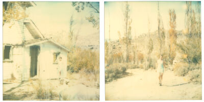 Stefanie Schneider, 'Last Season - so I walked away from my valley (Wastelands), diptych', 2003