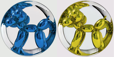 Jeff Koons, 'Pair Jeff Koons Balloon Dogs Guaranteed Not to turn green', 2002-2015
