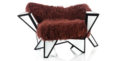 Benjamin Rollins Caldwell, 'Mosaic Chair 02', 2012