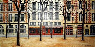 Angelo Mozziconacci, 'Place Dauphine, Paris', 1970-1979