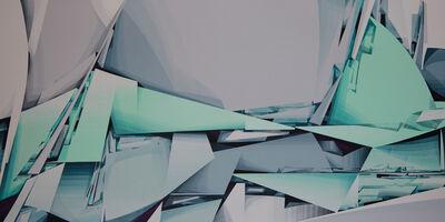 Swiz, 'Iceberg / Carambolage 2', 2020