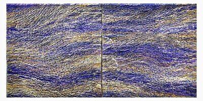 Pat McNabb Martin, 'Purple Rivers', 2020