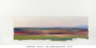 David Lowe, 'Termenos #7', 2018