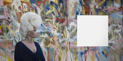 Jim Shaw, 'Gretchen and Fetal Wig', 2012