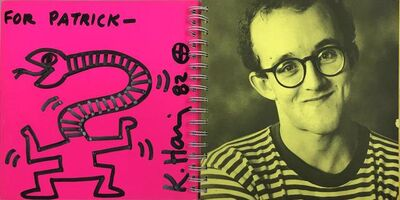 "Keith Haring, 'Untitled Drawing ""For Patrick""', 1982"