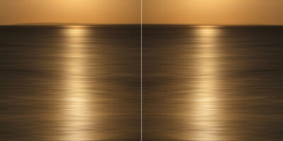 Christine Matthäi, 'Liquid Gold Diptych', 2014
