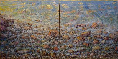 Bruno Zupan, 'Rocks & Stormy Seas (Diptych) ', 2013