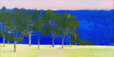 Wolf Kahn, 'BLUE BAND', 1995