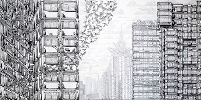 Emin Mete Erdoğan, 'Plants, Animals and Buildings I', 2019