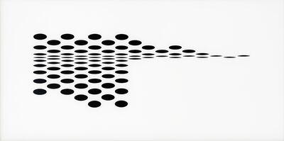 Bridget Riley, 'Untitled [Fragment 7]', 1965