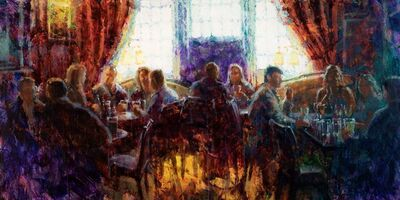 Christopher Clark, 'Pub with Friends', 2021