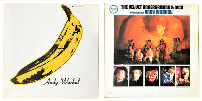 "Andy Warhol, 'THE HOLY GRAIL- RARE NEAR MINT, ""Andy Warhol"", , 1967, Velvet Underground & Nico LP , VERY RARE TORSO edition & UNPEELED BANANA STICKER, Museum Quality', 1967"