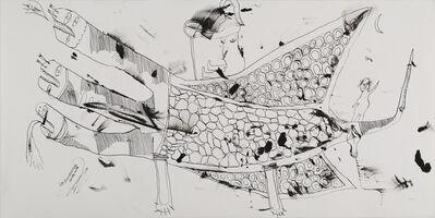 Issei Nishimura, 'No title (Three-Headed Pterosaur)', 2012