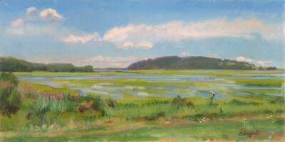 Theresa Pergal, 'Flood Tide at Hog Island', 2019