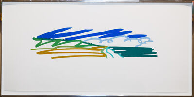 Tom Wesselmann, 'Study for Seascape with Cumulus Clouds and Sky', 1991