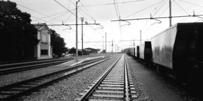 Gabriele Basilico, 'Prosecco Train Station', 1993