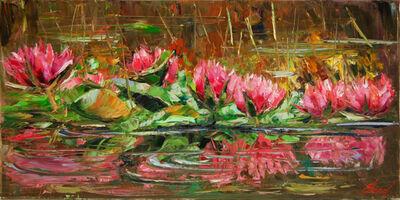 Elena Bond, 'Enchanted Lilies', 2016