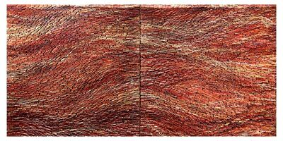 Pat McNabb Martin, 'Red Weave I & II', 2020