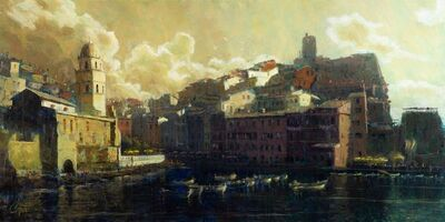 Christopher Clark, 'Vernazza Harbor', 2021