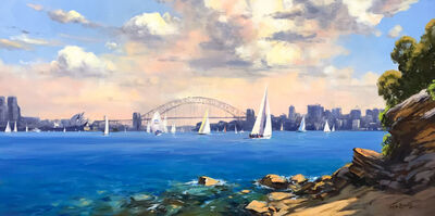 Ted Lewis, 'View of the Harbour', 2018