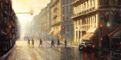 Christopher Clark, 'Paris - Crossing the Street', 2019