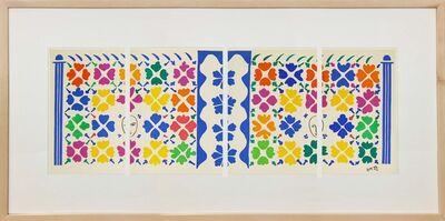 Henri Matisse, 'Decoration- Masques', 1958