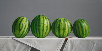 Janet Rickus, 'Watermelons with Vertical Stripes', 2018