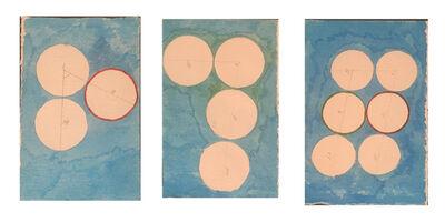 David Lamelas, 'Señalamiento de 3, 4 y 6 puntos', 1989