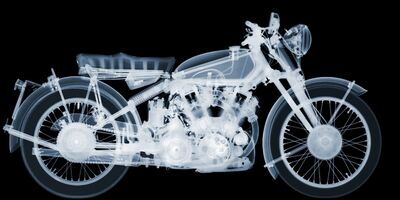 Nick Veasey, '1953 Vincent Black Shadow', 2016
