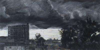 Peter Krausz, 'Gare de triage (été, tempête)', 2011