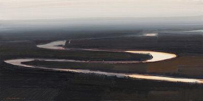 Lisa Grossman, 'Black Serpentine Sketch', 2017