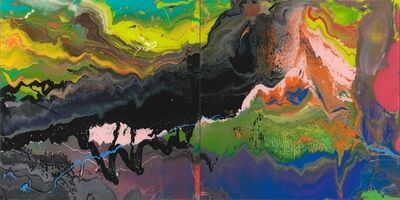 Gerhard Richter, 'Flow P16', 2016