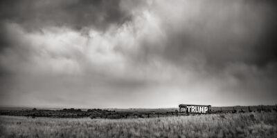 John Custodio, 'Trump, I-80, Wyoming'