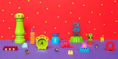 Elisa Von Brockdorff, 'I am the playground (Red)', 2014