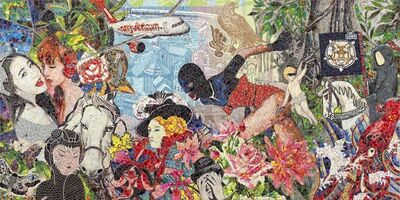 Ye Hongxing, 'Overlap No.28', 2015