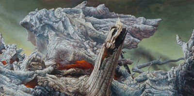 James Guppy, 'Fire and Ash', 2019