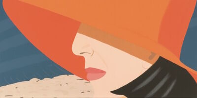 Alex Katz, 'Orange Hat (Alex and Ada, the 1960's to the 1980's Suite)', 1990