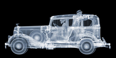 Nick Veasey, '1930's Pontiac with Gangsters, Ed. 4/25', 2016
