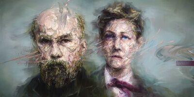 Mathieu Laca, 'Paul Verlaine and Arthur Rimbaud', 2019