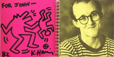 "Keith Haring, 'Untitled Drawing ""For John""', 1982"