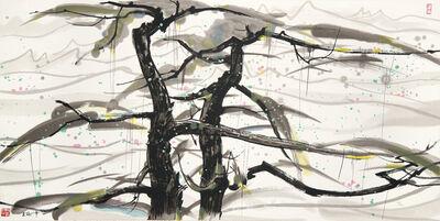 Wu Guanzhong, 'Two Pine Trees', 2013-2018
