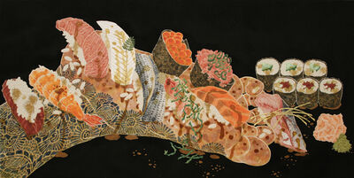 Hiroomi Ito, 'Nourish VI (Sushi On The Sole)', 2016