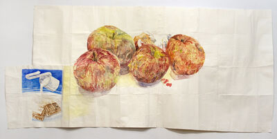Dawn Clements, 'Candybar and Apples', 2012