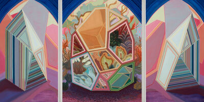 April Dawn Parker, 'Tell Me A Secret (triptych)', 2019